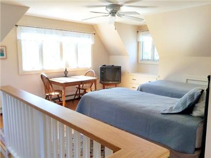 Eastham Cape Cod vacation rental - Upstairs (above garage) King or two extra long twin beds.