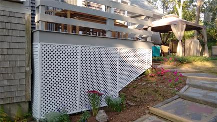 Chatham Cape Cod vacation rental - Backyard Deck and Gazebo