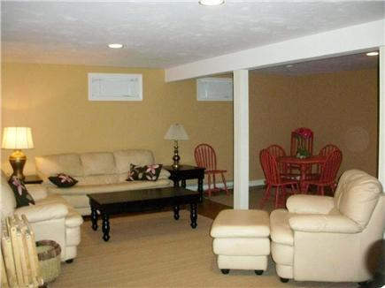 South Yarmouth Cape Cod vacation rental - Furnished basement
