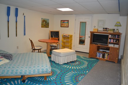 Dennis North Side Cape Cod vacation rental - Finished basement