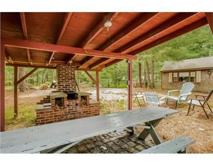 Chatham Cape Cod vacation rental - Covered Barbecue Area