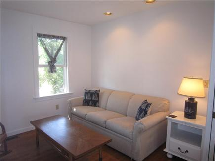 Brewster Cape Cod vacation rental - Den w/ TV and sleeper sofa