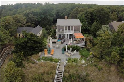 Wellfleet Cape Cod vacation rental - Aerial View Bay Side
