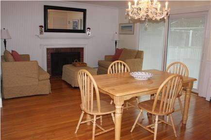 Centerville Centerville vacation rental - Dining room/sitting area with sliders off to the deck.
