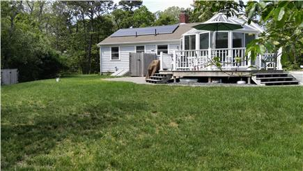 Eastham Cape Cod vacation rental - Backyard of Gale's Haven with outdoor shower