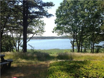 South Wellfleet Cape Cod vacation rental - View of Drummer Cove from deck and house.
