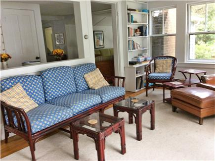 South Wellfleet Cape Cod vacation rental - Sunroom with games, puzzles, books.
