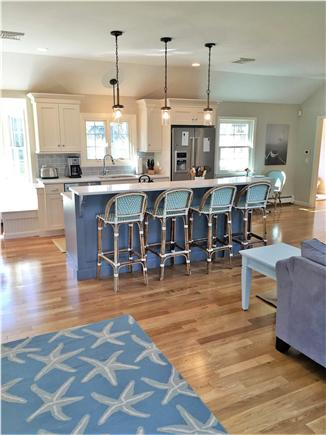 Chatham Cape Cod vacation rental - Kitchen with center island keeps everyone in the conversation!