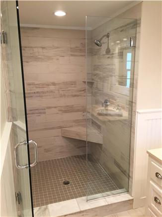 Chatham Cape Cod vacation rental - Master shower.... spa anyone?
