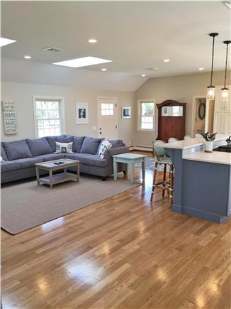 Chatham Cape Cod vacation rental - Front door opens to a 27 x 20 kitchen/living room/dining room