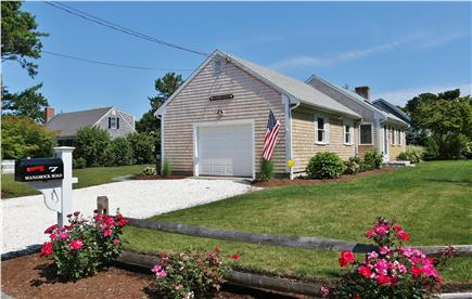 Chatham Cape Cod vacation rental - Lovely Cape roses and shell driveway