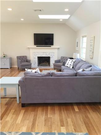 Chatham Cape Cod vacation rental - 50 inch TV can be viewed from everywhere!