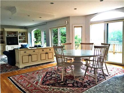 New Seabury, Mashpee New Seabury vacation rental - Dining and living room with water views