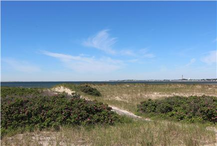 Truro Cape Cod vacation rental - Viewing Provincetown Over Dunes