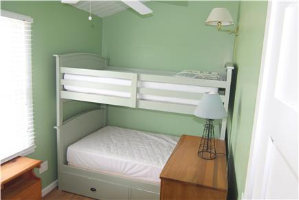 Truro Cape Cod vacation rental - Bedroom 3 - Bunk Beds Twin Size