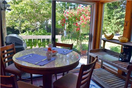 Chatham Cape Cod vacation rental - Sun room with great view