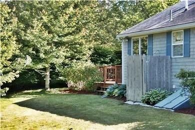 North Chatham Cape Cod vacation rental - Outside shower