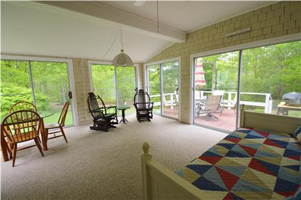 Barnstable Village Cape Cod vacation rental - Sunroom with daybed for overflow of guests