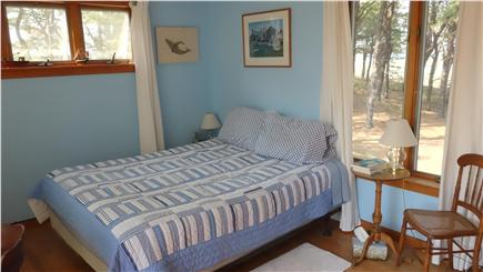 South Wellfleet Cape Cod vacation rental - The upstairs bedroom with the sunset Deck