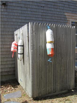 Eastham Cape Cod vacation rental - Outdoor shower with hot and cold water