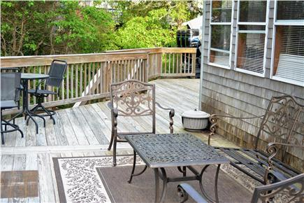 Pocasset, Bourne Pocasset vacation rental - Deck (seating cushions stored in the sunroom)