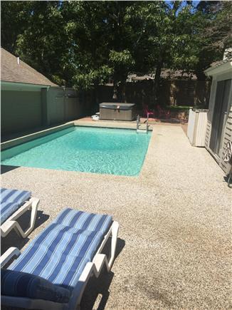 New Seabury, Mashpee New Seabury vacation rental - Pool, patio and hot tub