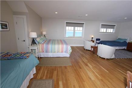 East Sandwich Cape Cod vacation rental - 3rd Floor Bedroom w/ King bed and 2 Twins