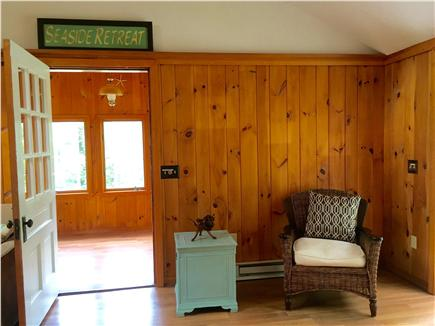 Eastham Cape Cod vacation rental - The other half of the spacious living room opposite fireplace