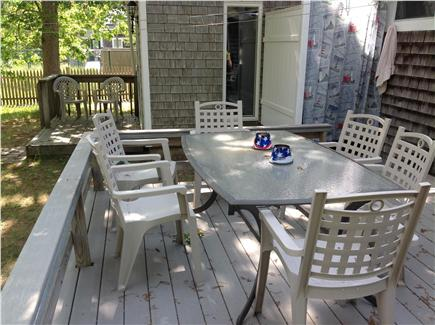 Eastham Cape Cod vacation rental - Decks and outdoor shower