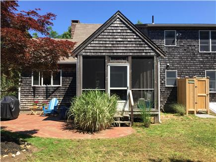 North Eastham Cape Cod vacation rental - Porch, patio, new outdoor shower