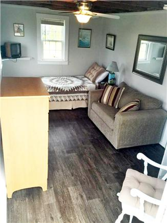 Barnstable, Cummaquid Cape Cod vacation rental - First Floor Bedroom with Pull out Sofa
