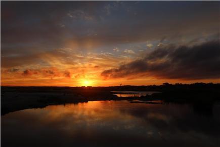 Barnstable, Cummaquid Cape Cod vacation rental - If you're an early bird - sunrises are wonderful.