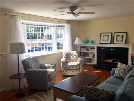 West Dennis Cape Cod vacation rental - Living Room