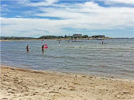 North Falmouth Cape Cod vacation rental - New Silver Beach - lifeguard, calm, warm water