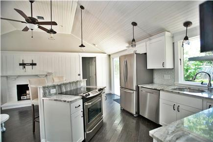 West Yarmouth Cape Cod vacation rental - View from kitchen.