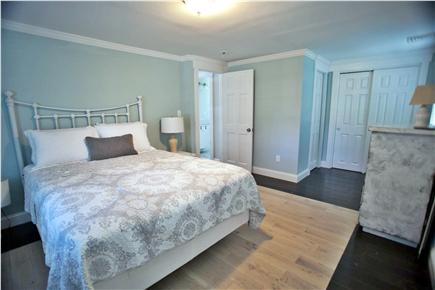 West Yarmouth Cape Cod vacation rental - Master bedroom #2 with queen bed and half bath.
