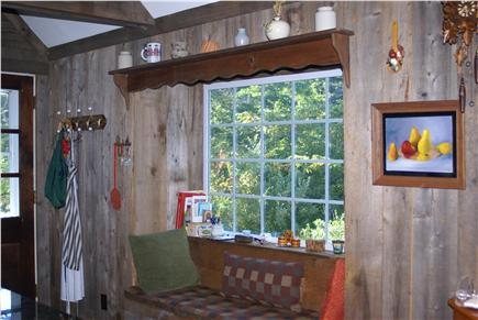Eastham Cape Cod vacation rental - Kitchen Window Seat