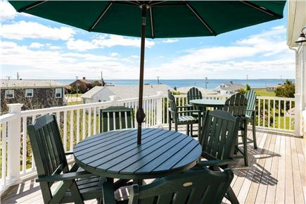 Falmouth Cape Cod vacation rental - Upper deck - best place to sit with morning coffee!