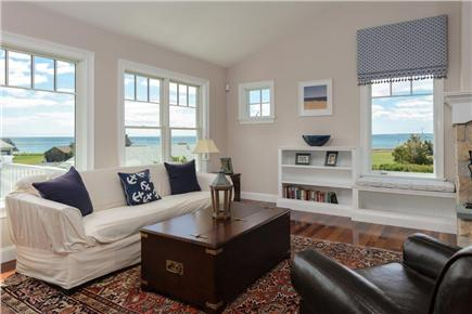Falmouth Cape Cod vacation rental - Living room with great ocean views