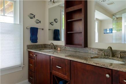 Falmouth Cape Cod vacation rental - Full bathroom with walk-in shower
