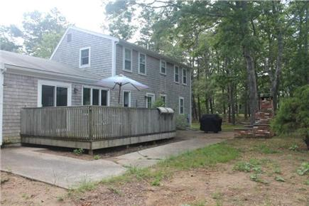 Eastham Cape Cod vacation rental - Deck, patio, grill and outdoor shower