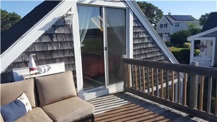 South Yarmouth Cape Cod vacation rental - Balcony with sliding door off bonus/bedroom.