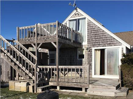 South Yarmouth Cape Cod vacation rental - Rear deck and balcony.