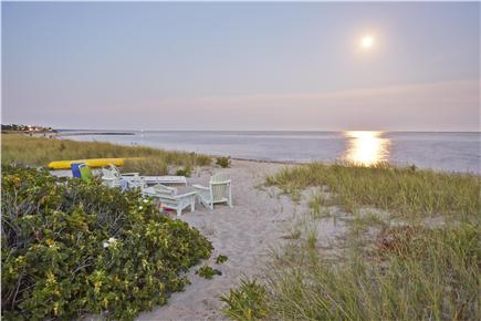 Falmouth Cape Cod vacation rental - Private sitting area on a wonderful swimming beach
