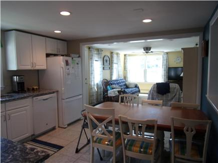 Falmouth Cape Cod vacation rental - Newly renovated kitchen opened to family room overlooking water