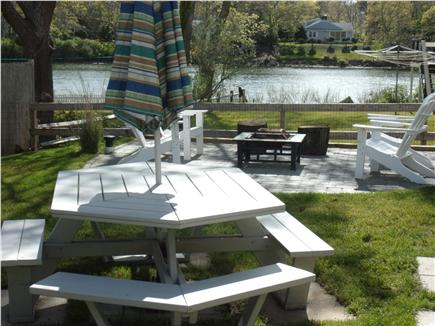 Falmouth Cape Cod vacation rental - Large picnic table