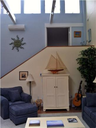 Provincetown Cape Cod vacation rental - Living room from front entry