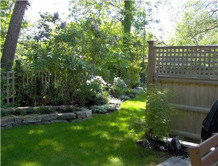 Provincetown Cape Cod vacation rental - Common back yard from patio
