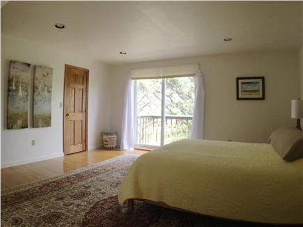 Downtown Chatham Cape Cod vacation rental - Guest bedroom with waterview, private deck, ensuite full bath