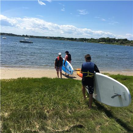 Downtown Chatham Cape Cod vacation rental - Enjoy our kayaks and SUP boards on Oyster Pond!